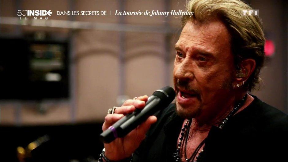 Johnny Hallyday se confie sur sa tournée des festivals cet été