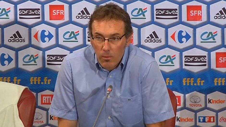 Equipe de France : Laurent Blanc, première conférence de presse
