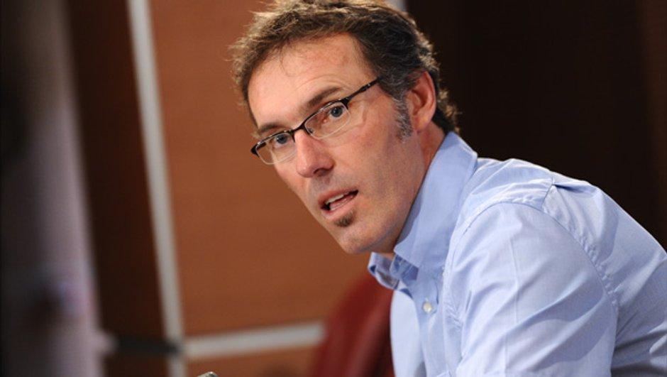 Equipe de France : Laurent Blanc en conférence de presse