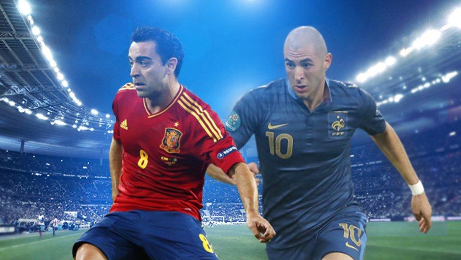 Revoir France-Espagne en streaming vidéo !