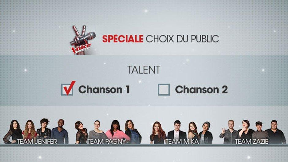 The Voice 4 - Choisissez les chansons des candidats pour les Lives !