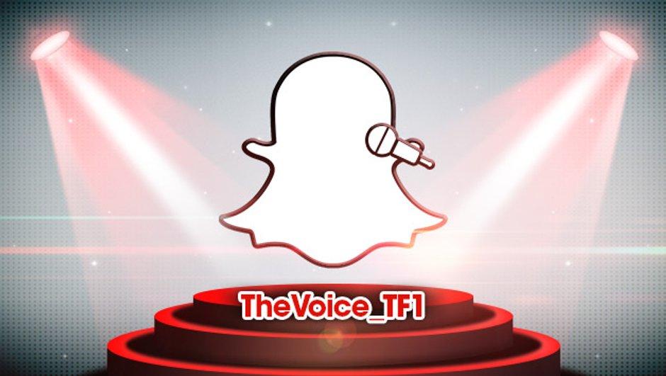 The Voice 4 : Coachs et talents sont aussi désormais sur Snapchat !