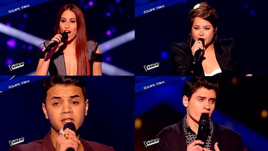 The Voice 4 - Hiba, Sharon, Yann'sine, David : la Dream Team de Mika pour les Lives