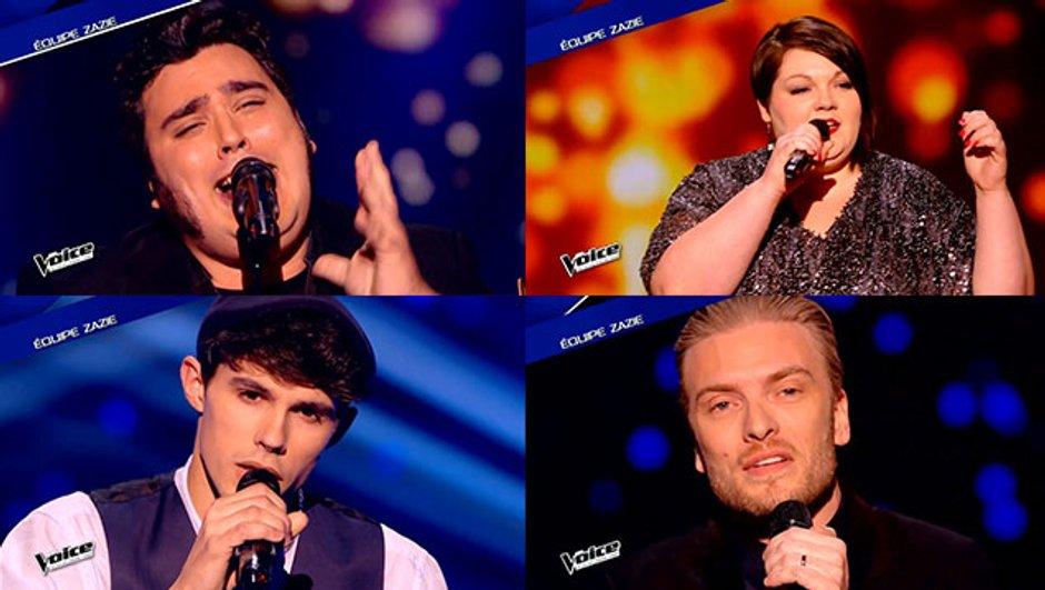 The Voice 4 - Yoann, Lilian, Guilhem, ils assurent pour Zazie