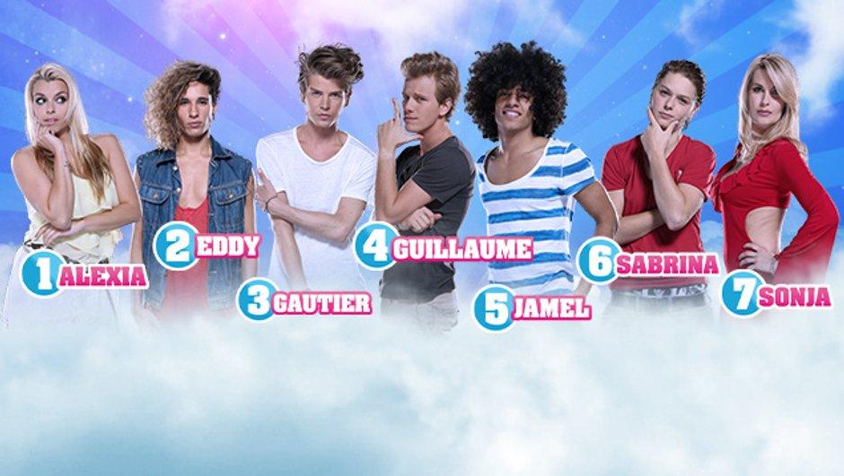 Secret Story 7 - Guillaume, Sonja, Jamel, Gautier, Eddy, Alexia et Sabrina nominés