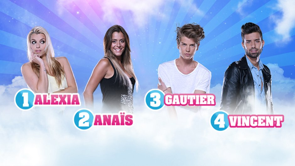 Secret Story 7 - Alexia, Anaïs, Gautier, Vincent en finale !