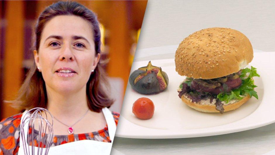 "Le "" Burger 2 saveurs "" de Carol"