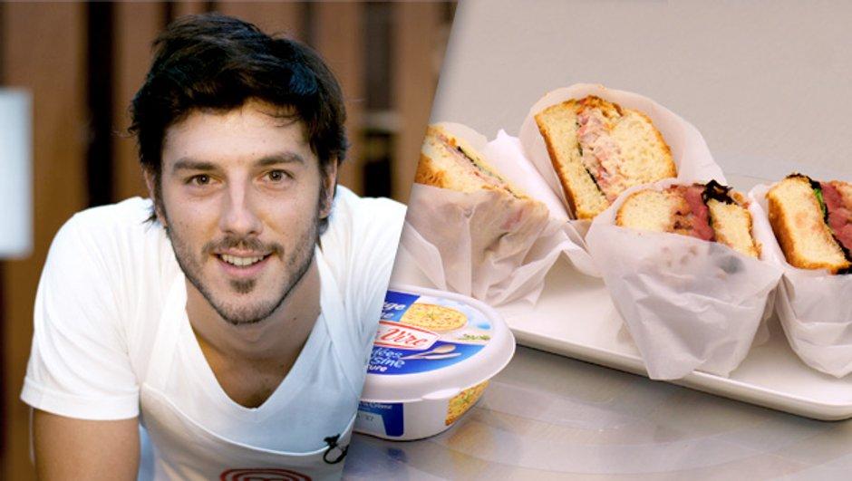 """Le """" Bagel Burger """" d'Enguerrand"""