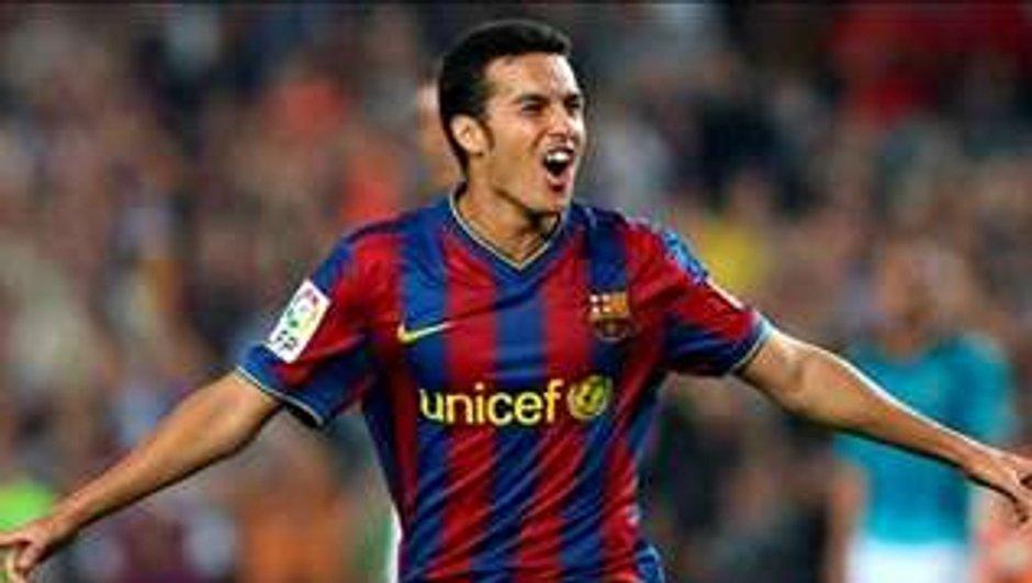 Arsenal - Barcelone : Pedro, la nouvelle star