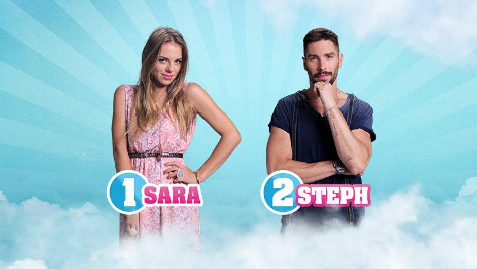 Sara et Steph sont les nominés de la semaine !