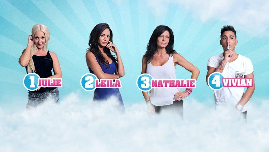 Jessica en finale, Julie, Leila, Nathalie et Vivian nominés !