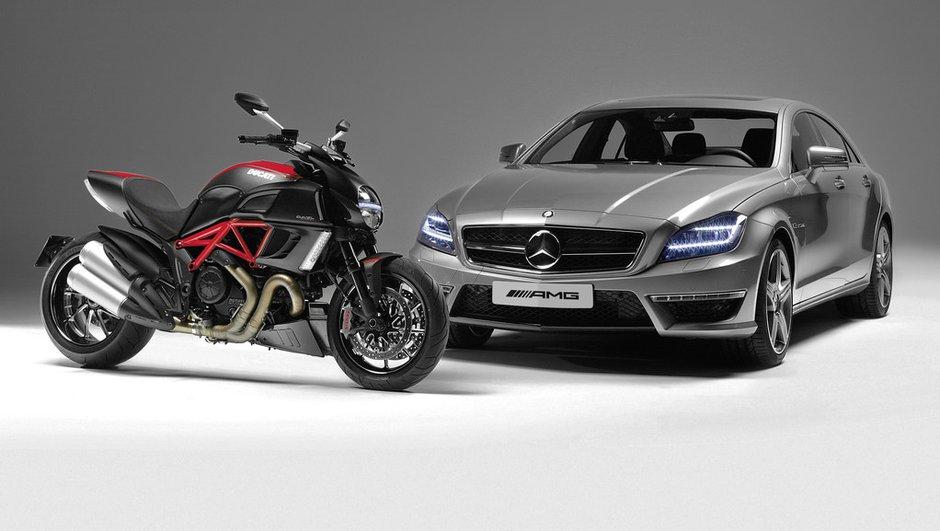 Rapprochement entre AMG et Ducati