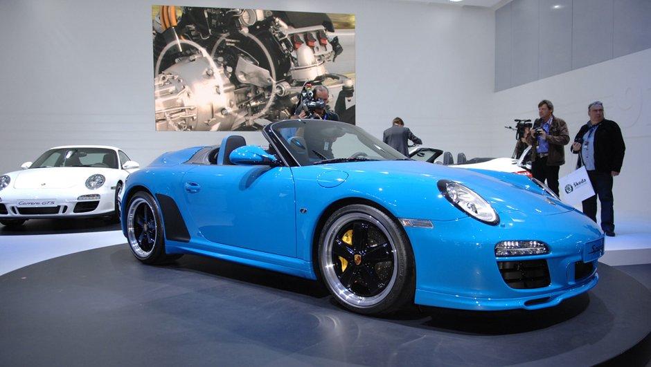 Porsche 911 Speedster au Mondial de l'Auto, un hommage au passé