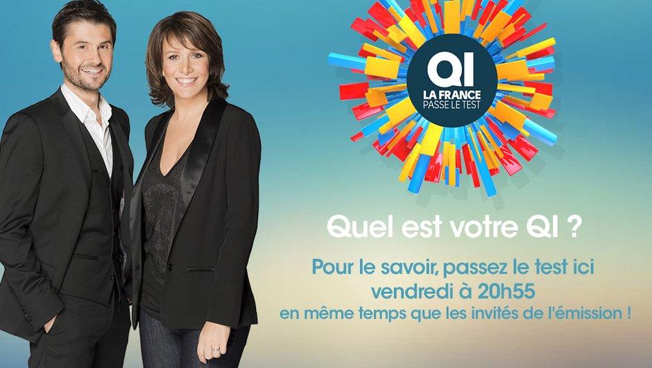 QI : La France passe le Test - Miss France 2015, Moundir... calculez votre QI avec eux ce vendredi 23 janvier à 20h55 sur TF1