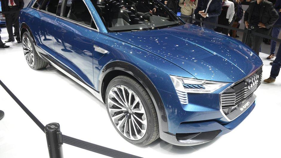 Audi prépare un Q6 100% électrique produit à Bruxelles pour 2018