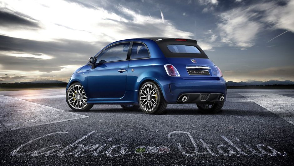 Abarth : nouvelles 500 Cabrio Italia et Punto SuperSport pour Francfort 2011