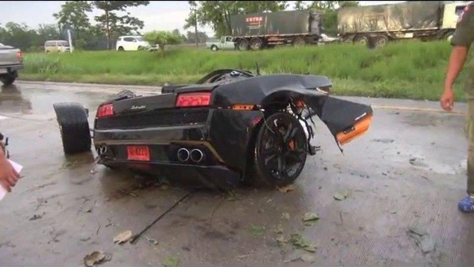 Insolite : une Lamborghini Gallardo coupée en deux !
