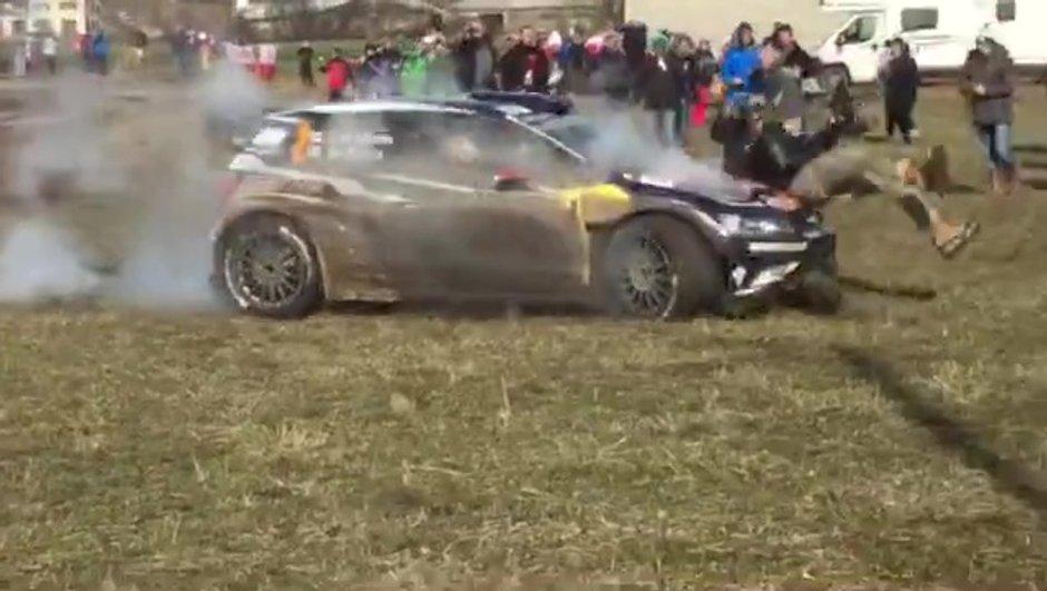 VIDEO – Rallye Monte Carlo 2016 : Latvala percute un spectateur et est pénalisé