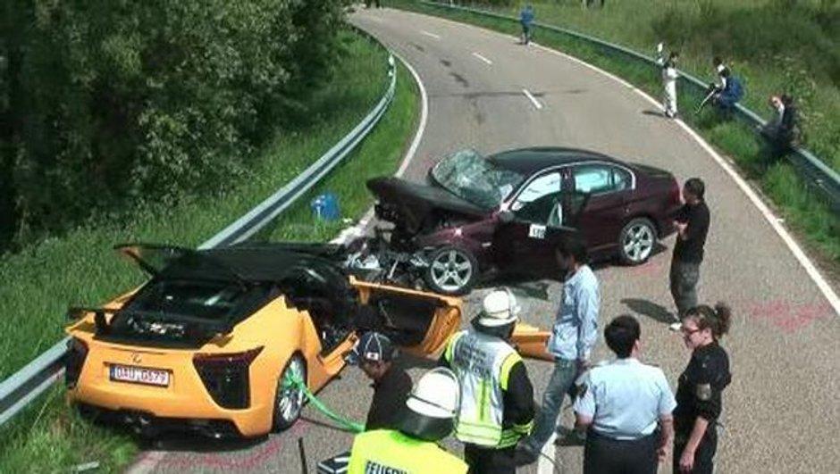 Accident en Lexus LFA : le chef des essais Toyota décède