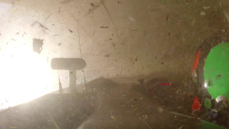 Vidéo : l'accident spectaculaire de la Nissan Deltawing