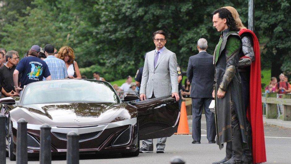 """""""The Avengers"""" : un concept Acura inconnu sur le tournage"""