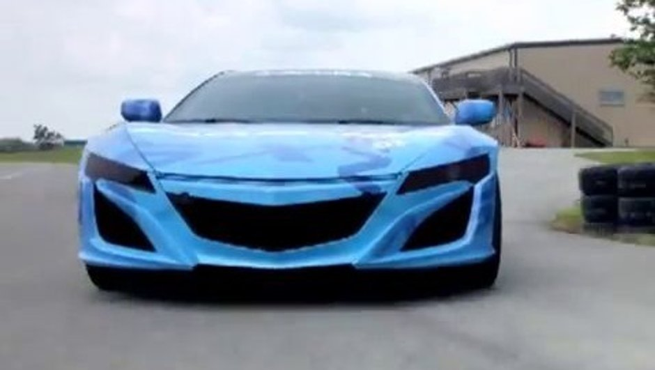 Acura/Honda NSX 2014 : premiers rugissements en vidéo