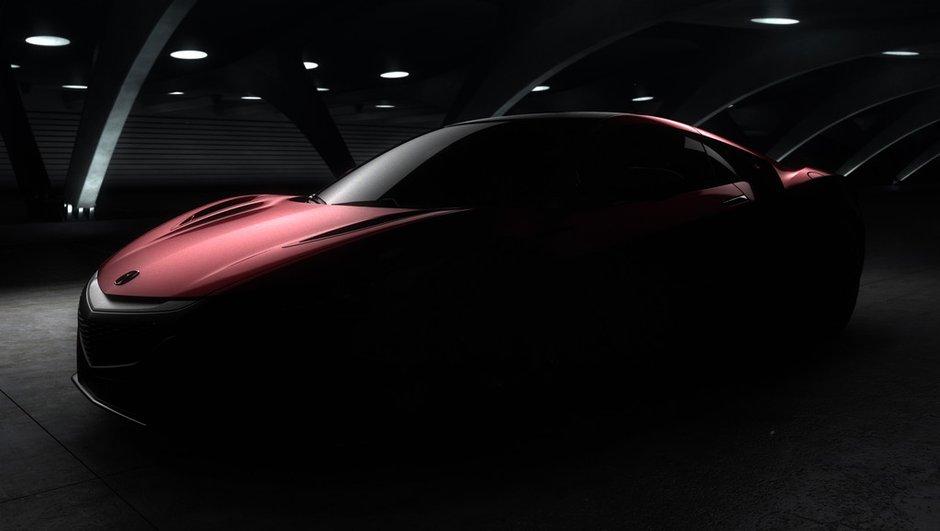 Acura NSX 2015 : la nouvelle sportive Honda à Detroit !
