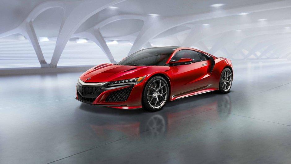 Acura NSX 2015 : La super-hybride Honda définitive déboule à Detroit