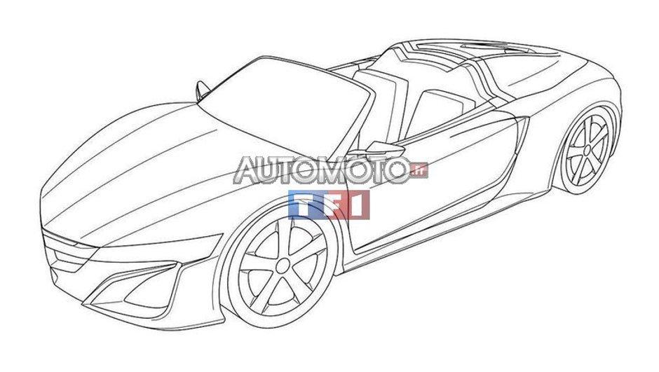 Scoop : voici l'Acura NSX Cabriolet Concept !