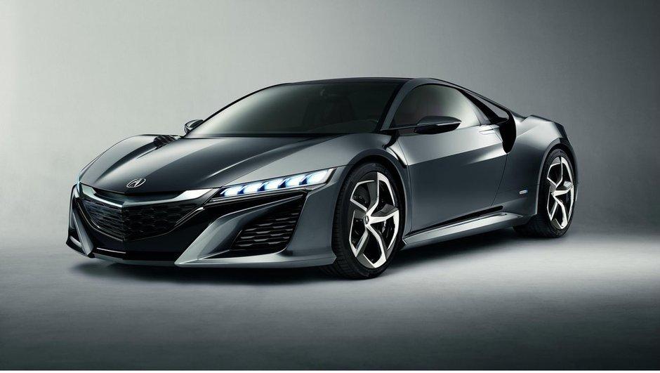 Salon de Détroit 2013 : Acura NSX Concept de retour