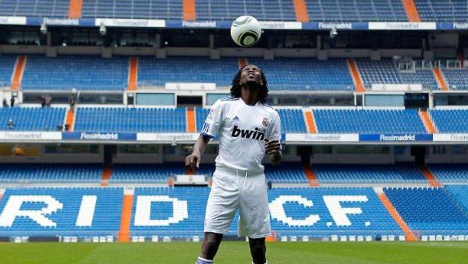 Adebayor veut s'imposer au Real Madrid