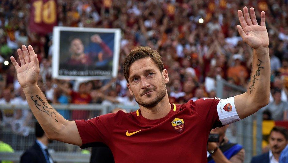 AS Roma : Totti va rejoindre le staff