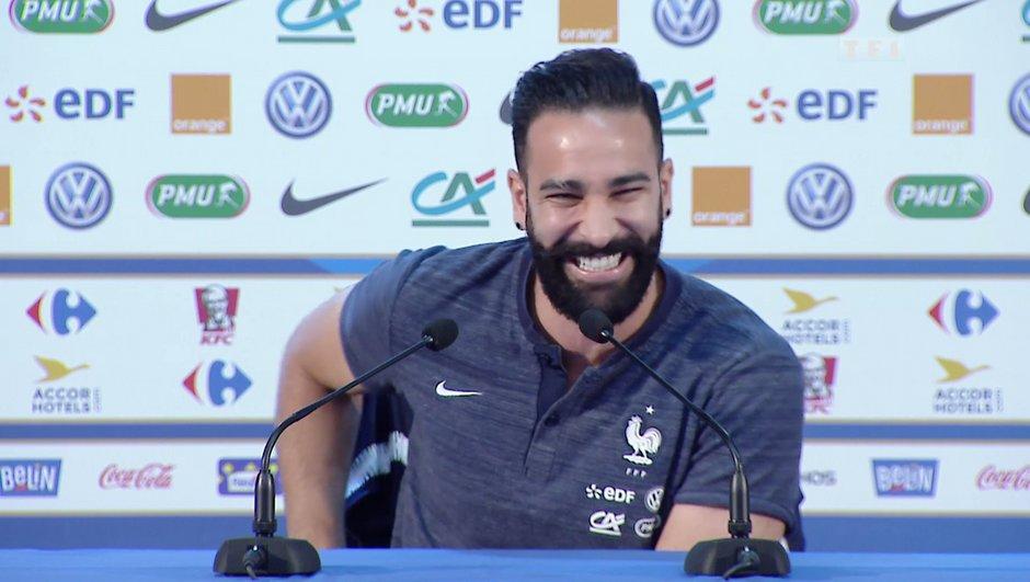 """Adil Rami : """"Sincèrement qu'est-ce que je kiffe ce groupe"""""""
