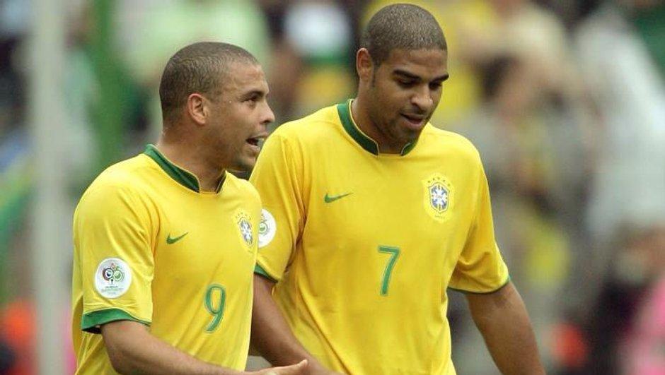 Adriano : de la gloire des terrains de foot à l'enfer des favelas de Rio