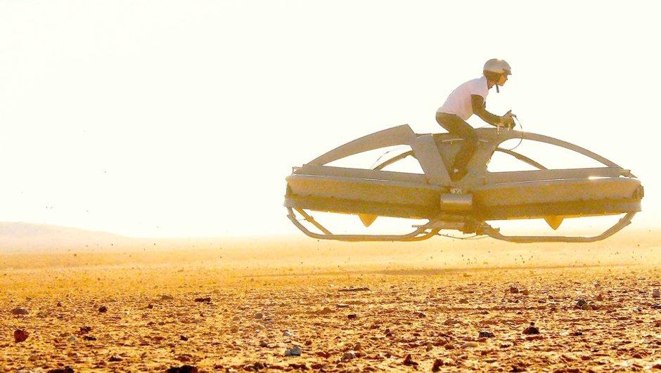 Insolite : La moto volante sera vendue dès 2017