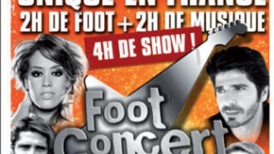 Foot Concert : 4h de foot et de concert à Lyon