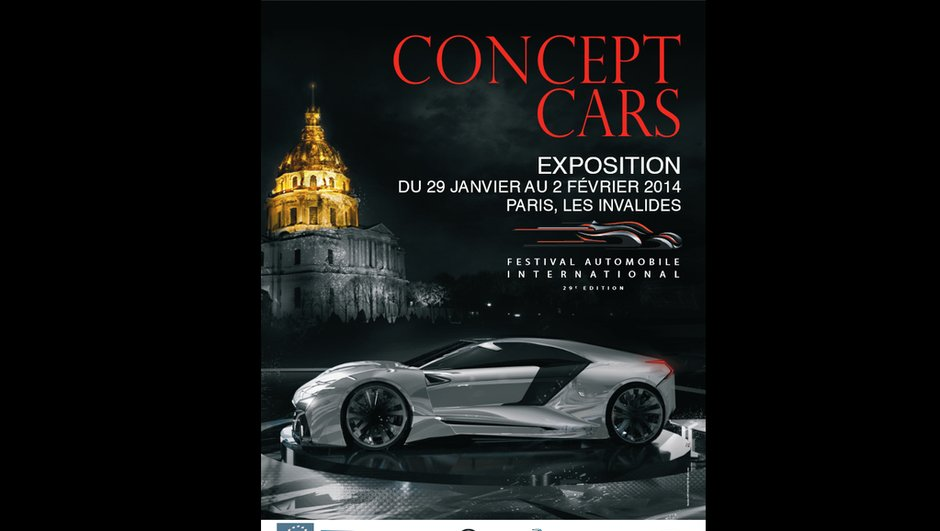 Festival Automobile International 2014 : les concept-cars présents