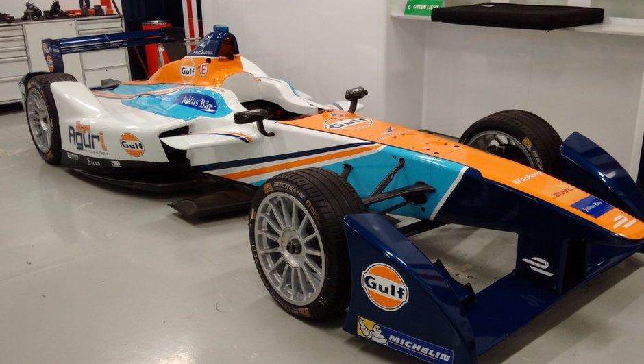 Insolite : quand le pétrolier Gulf sponsorise la Formule E