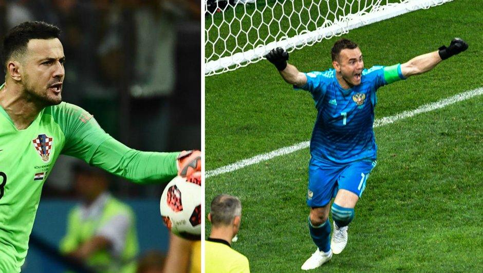Russie-Croatie : le match dans le match entre Igor Akinfeev et Danijel Subasic