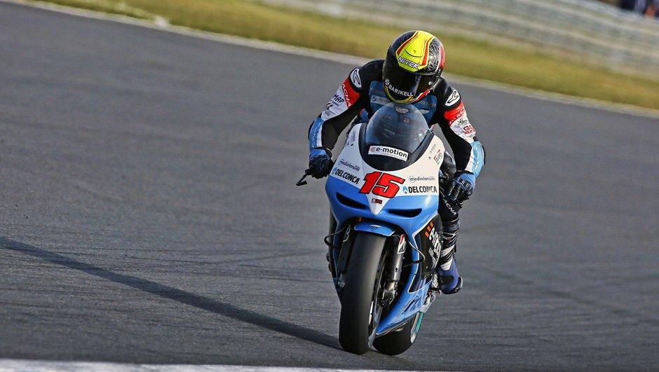 MotoGP Japon 2015 : Alex de Angelis lourdement blessé