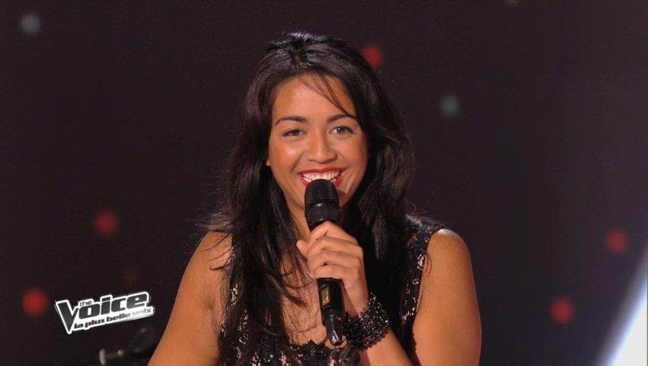 The Voice 3 : Florent Pagny a terminé sa soirée avec la belle Alexia Rabé