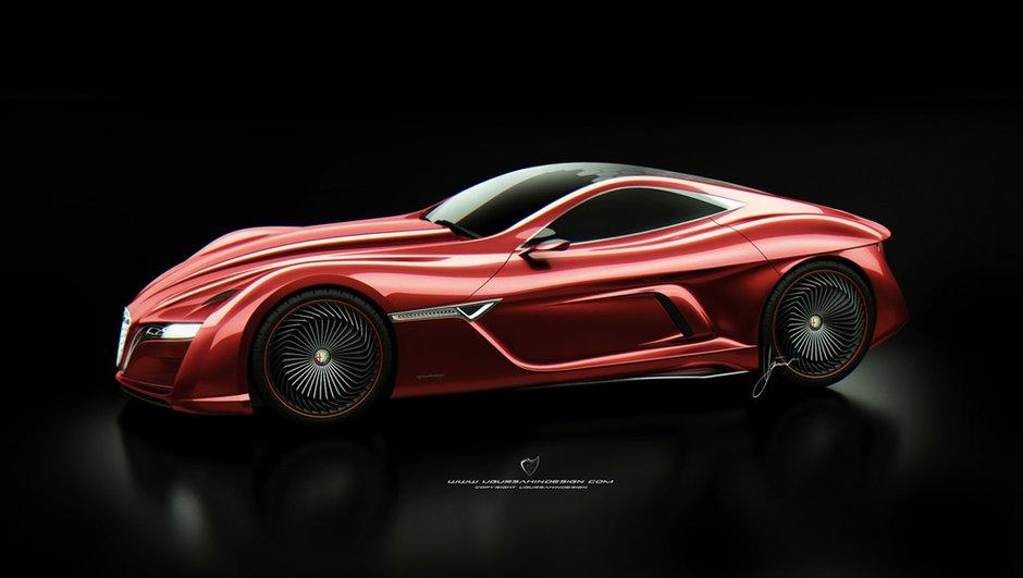 Alfa Romeo 12C GTS Concept par Ugur Sahin
