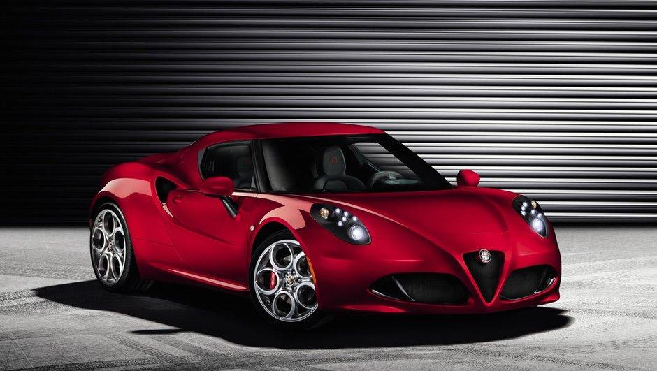 Salon de Genève 2013 : Alfa Romeo 4C, le coupé se réveille