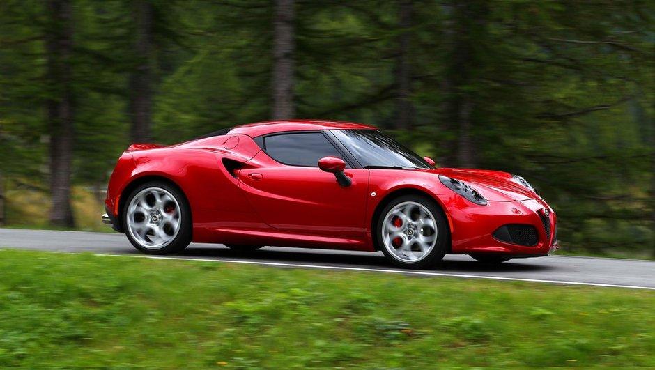 Alfa Romeo 4C 2013 : prix de 51.500 euros en France