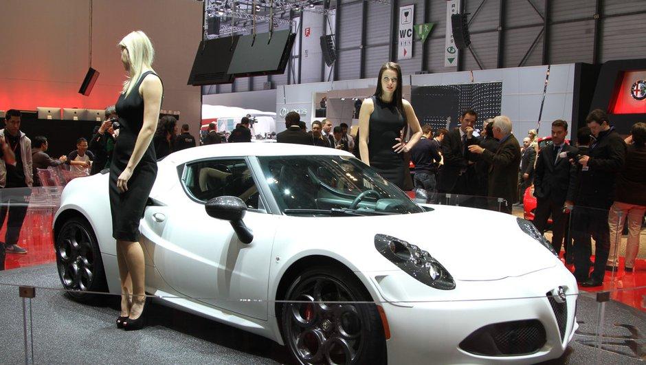 Salon de Genève 2013 - Live : Alfa Romeo 4C, retour au sport