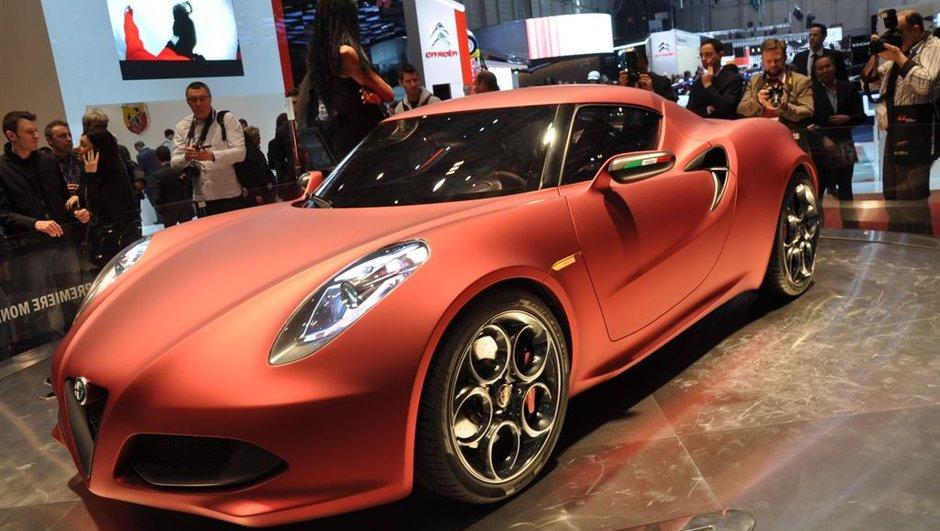 Alfa Romeo 4C : confirmée pour 2013 !