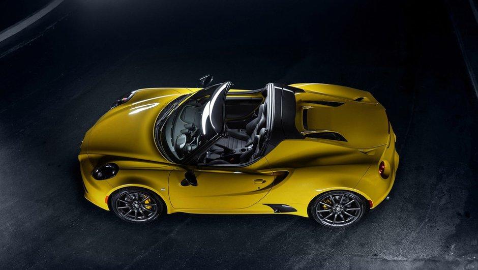 Alfa Romeo 4C Spider 2015 : prix de 73.000 euros