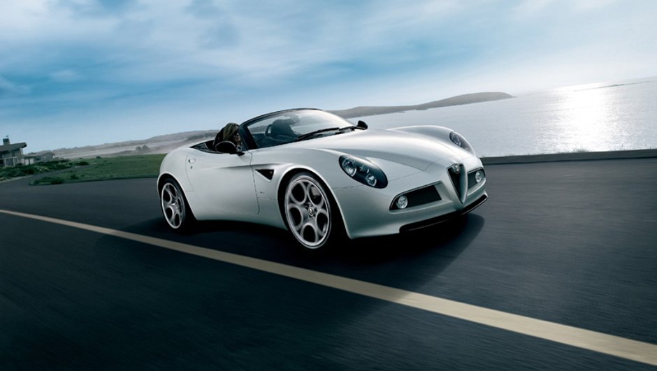 Alfa Romeo 8C Spider : la production commence !