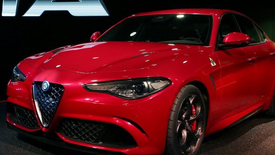 Alfa Romeo Giulia QV 2016 : une vitesse de 321 km/h ?