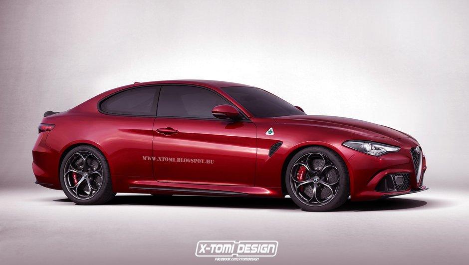 Alfa Romeo Giulia : Bientôt disponible en coupé et cabriolet ?
